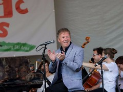 Jim Witter first appeared with the Grand Rapids Symphony at Cannonsburg Ski Area for the 2015 D&W Fresh Market Picnic Pops