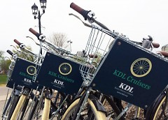 KDL Cruisers waiting to be checked out for use.
