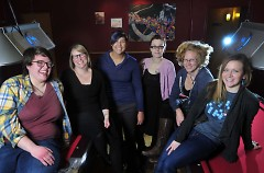 LadyFestGR 2014 Organizers are Jes Kramer, Holly Seymour, Steff Rosalez, Sarah Scott, Tami Vandenberg and Nicole Leach.