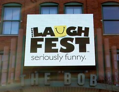 The B.O.B hosts Laughfest DisArt Panel