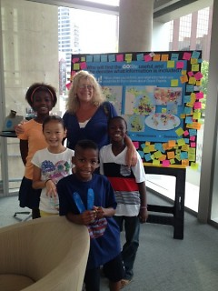 Visitors to the GoSite Pop Up provided valuable feedback