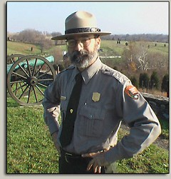 Mannie Gentile is a popular Antietam National Battlefield Park Ranger and former Grand Rapids resident