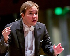 Music Director Marcelo Lehninger leads the Grand Rapids Symphony and Symphony Chorus back to Carnegie Hall on April 20.