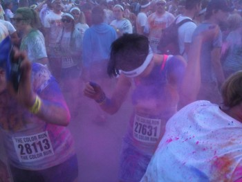 A bit of a color packet war after The Color Run.