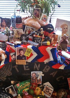 Altar to Doug. (July 18, 1969 – March 24, 1999)