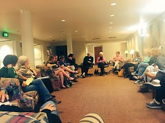 Nuns and Nones gathering at the Dominican Sisters