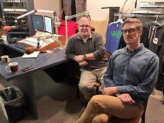 Len O'Kelly and Eric Harvey from GVSU's School of Communications