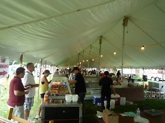 Local restaurants at Taste of Grand Rapids 2011