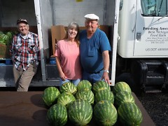 The Food Bank uses Mobile Pantries to bring fresh produce to high-need communities like Greenville.