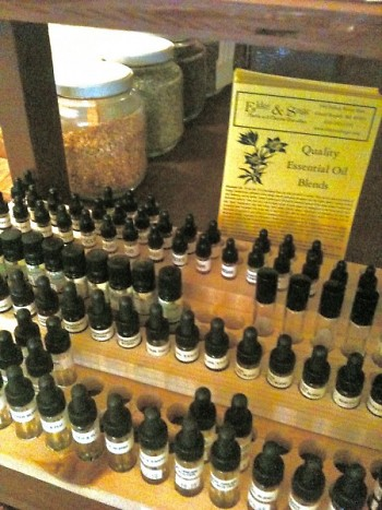 Wide selection of therapeutic grade essential oils.