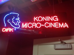 Wealthy Theatre Microcinema named for Dirk Koning.
