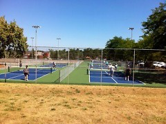 Pickleball courts at Belknap Park