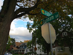 Intersection of Fuller and Dunham streets