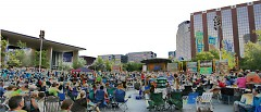 Rosa Parks Circle will be the site for another downtown music festival. The free GRandJazzFest is on Sat., Aug. 18.