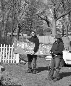 Volunteers go the extra mile for Brikyaat Community Garden