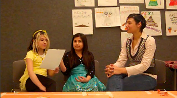 Avelycia O, Millie M., and Maura interview Miss Steffanie Rosalez