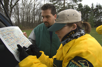 The DNR recommends that hunters bring their deer to check stations located throughout the state.