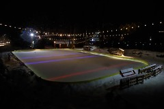 Rink that the Dekes and Dangles tournament is played on in the winter time