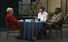 Sister Barbara Hansen interviews LINC on a past episode of NPO Showcase.