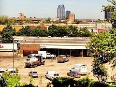 The Grand Rapids skyline as seen from The Black Hills neighborhood