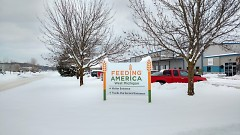 Feeding America West Michigan provides food to 40 counties in Michigan and is based in Comstock Park.