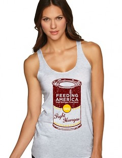 The Feeding America West Michigan collection includes a variety of designs for men and women.