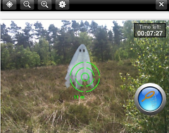 The Spectrek app uses augmented reality to get people out exploring open spaces in search of ghosts