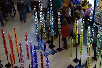 Susan Rankin's Glass Forest, ArtPrize 2011, at the Grand Rapids Public Museum