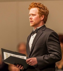 Tenor Ross Hauck, a past performer with the Grand Rapids Symphony, returns for the 2017 Grand Rapids Bach Festival