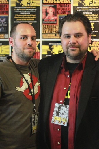 Thriller! Chiller! Film Festival directors Chris Randall and Anthony Griffin.