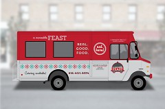 Artist's rendering of A Moveable Feast Truck