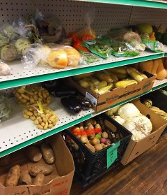 UCOM offers a variety of fresh produce from Feeding America West Michigan and local farms.