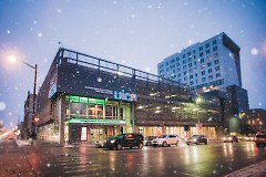 UICA exterior in winter.