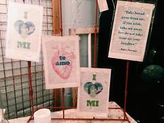 Handmade cards at Bluedoor.