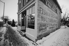The former thrift shop and one time tailor is now home to Corridor Coffee shop