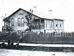 Ward School No. 1 on S. Division