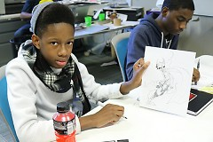 WMCAT teens can expand upon their creativity in numerous outlets such as sketching, painting, digital work, and more.