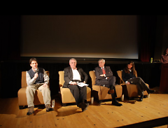 2010 discussion panel at Wealthy Theatre