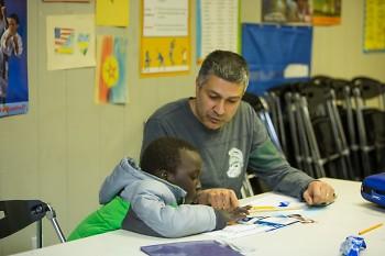 WMRECC tutor and student