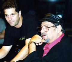 Documentary producer/director Denny Tedesco, pictured with his father Tommy Tedesco of The Wrecking Crew.