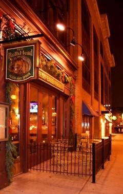 Monroe Street View of Bulls Head Tavern