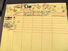Press Club progress sheet