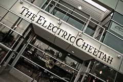 The Electric Cheetah, one of the many new businesses on Wealthy Street