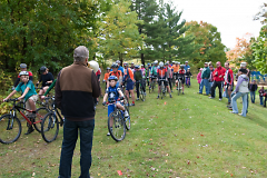 Brief instruction pre-race
