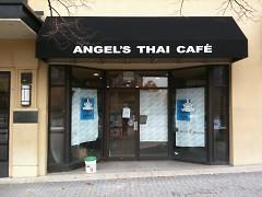 Exterior of Angel's Thai Café