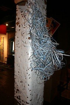 Nested by Iowa artist Angela Pease at The BOB during ArtPrize