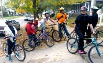 Whirlwinds Bike Club from Alger Middle School